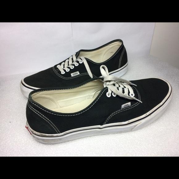 Vans Shoes | Mens Black Size 12 | Poshmark